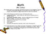 math ms lesley