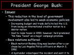 president george bush1