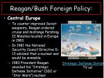 reagan bush foreign policy1