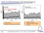 cold antihydrogen cold antihydrogen ii