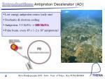introduction antiproton decelerator ad