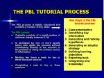the pbl tutorial process