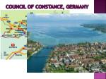 council of constance germany