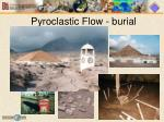 pyroclastic flow burial