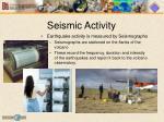 seismic activity1