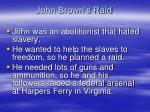 john brown s raid