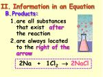 ii information in an equation1