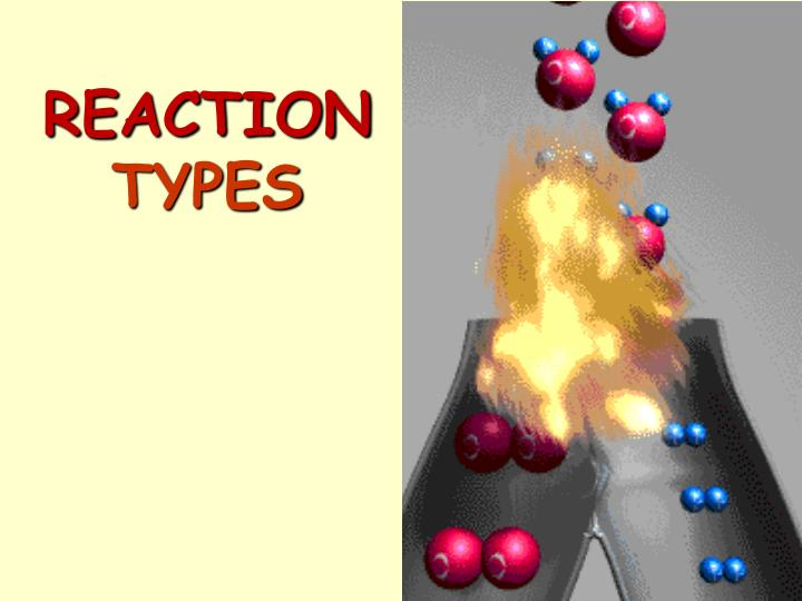 reaction types n.