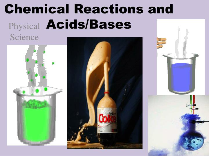 chemical reactions and acids bases n.