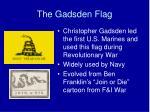 the gadsden flag