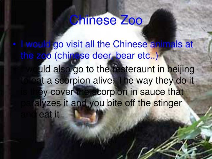 Chinese Zoo