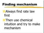 finding mechanism