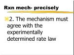rxn mech precisely1