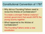 constitutional convention of 1787
