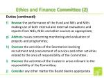 ethics and finance committee 2