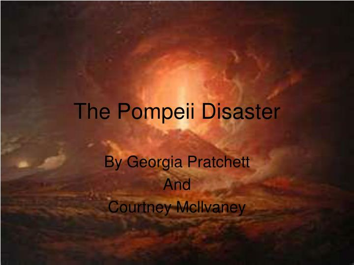 the pompeii disaster n.