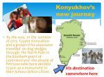 konyukhov s new journey