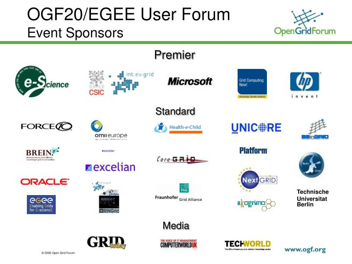 ogf20 egee user forum event sponsors n.