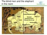 the blind men and the elephant in the room