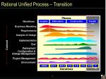 rational unified process transition