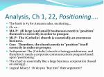 analysis ch 1 22 positioning