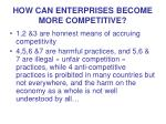 how can enterprises become more competitive1