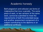 academic honesty1
