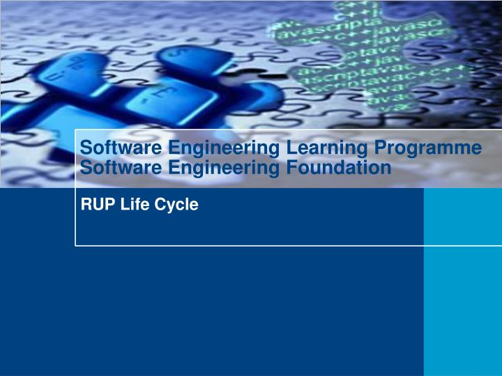 software engineering learning programme software engineering foundation n.