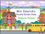 mrs emerick s second grade class