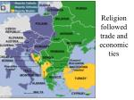 religion followed trade and economic ties