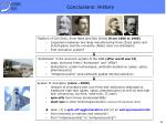 conclusions history