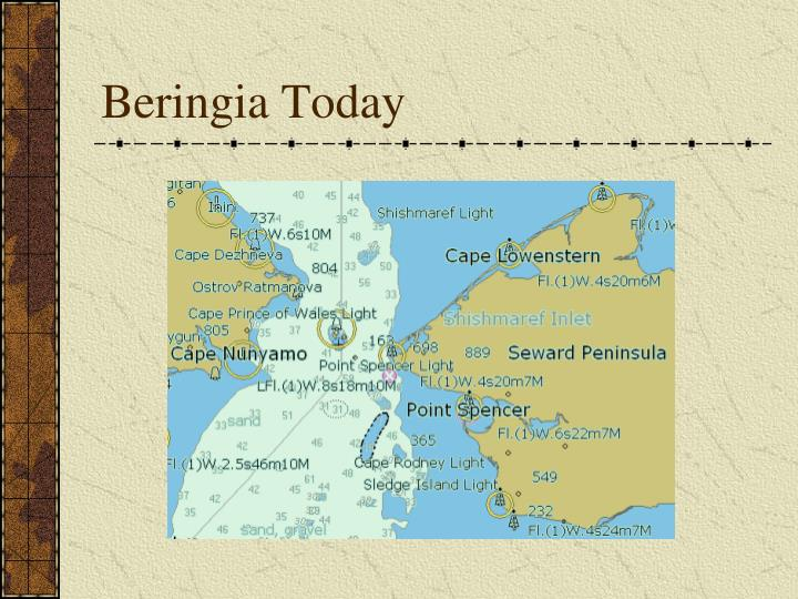 Beringia Today