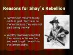 reasons for shay s rebellion1