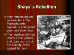 shays s rebellion