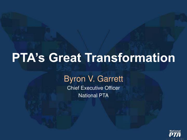 pta s great transformation n.