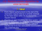 2 2 random access algorithms for voice terminals