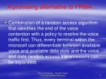 a promising alternative to prma