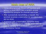 basic idea of rra