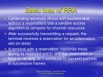 basic idea of rra