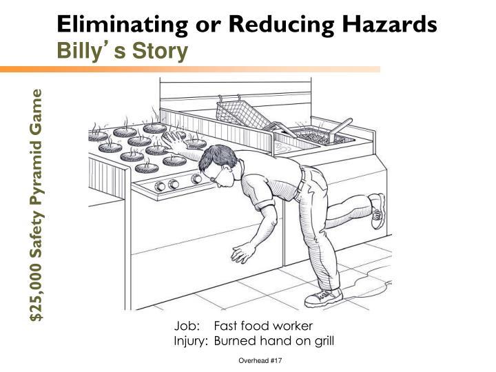 Eliminating or Reducing Hazards