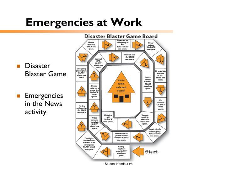 Emergencies at Work