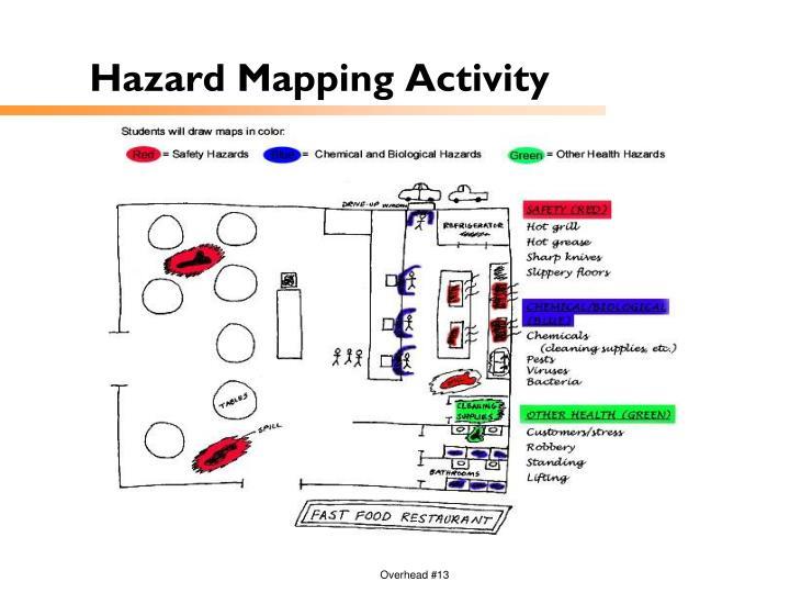 Hazard Mapping Activity