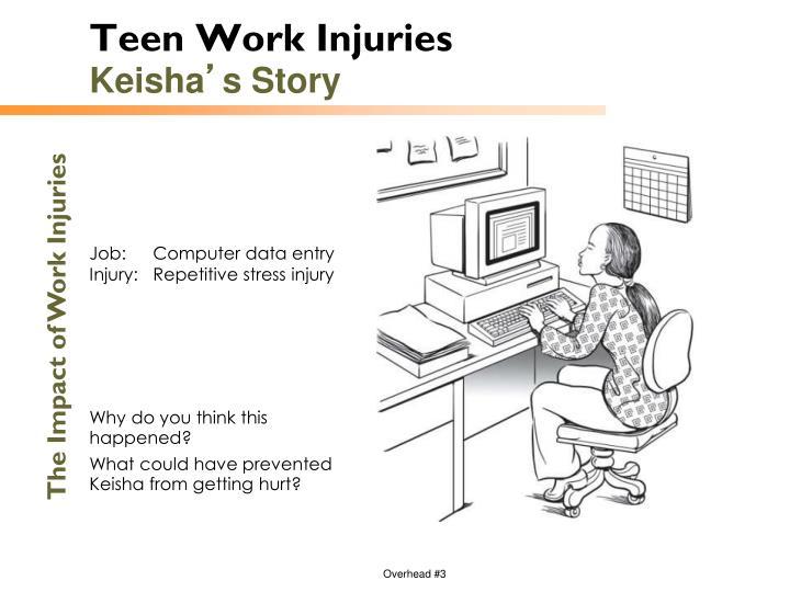 Teen Work Injuries