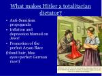 what makes hitler a totalitarian dictator