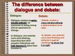 the difference between dialogue and debate1