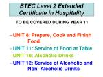 btec level 2 extended certificate in hospitality1