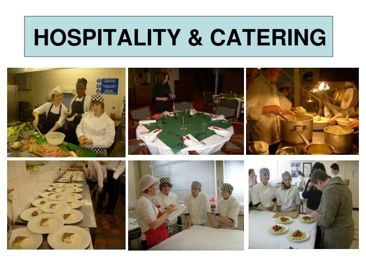 hospitality catering n.