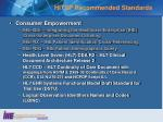 hitsp recommended standards1