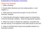 2 5 applications of the equations of kinematics