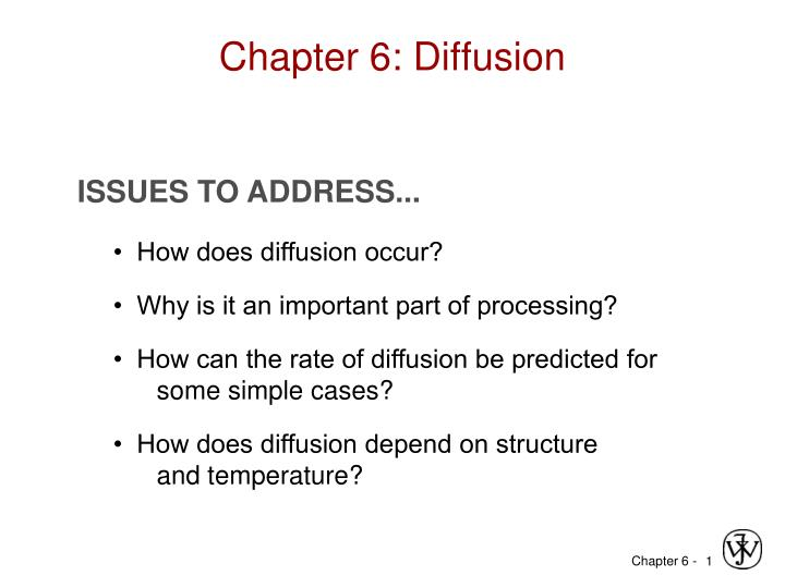 chapter 6 diffusion n.